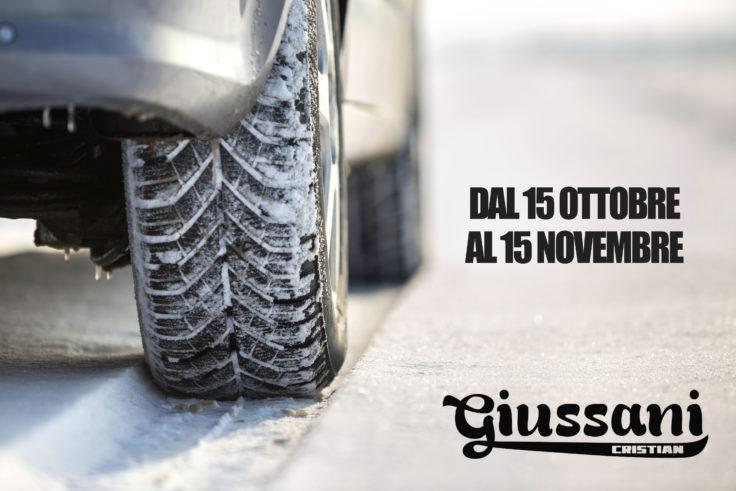 Cambio Gomme Inverno Officina Giussani